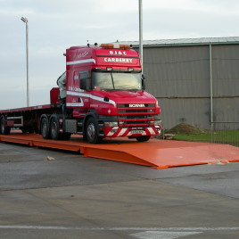 Electronic Weigh Bridge Truck Weighing