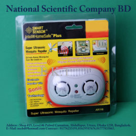Dual Channel Ultrasonic Mosquito Repeller AR116