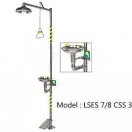 STAINLESS STEEL EMERGENCY SHOWER
