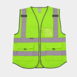 High Visibility Reflective Green Orange Jacket In Bd
